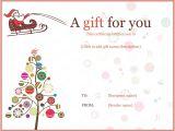 Homemade Christmas Gift Certificates Templates 20 Awesome Christmas Gift Certificate Templates to End 2017
