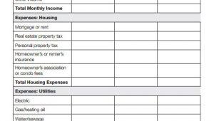 Homeowners association Budget Template 9 Sample Budget Templates Sample Templates