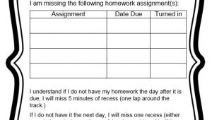 Homework Contract Template Behavior Contracts and Checklists that Work Scholastic