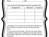 Homework Contract Template High School Behavior Contracts and Checklists that Work Scholastic