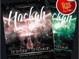 Hookah Flyer Template Free Hookah Free Hookah Night Party Flyer by Elegantflyer