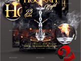 Hookah Flyer Template Free Hookah Night Flyer Template by Take2design Graphicriver