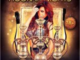 Hookah Flyer Template Free Hookah Nights Flyer Template for Photoshop Awesomeflyer Com