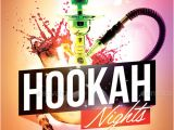Hookah Flyer Template Free Hookah Nights Party Flyer Template by Flyermarket
