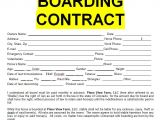 Horse Boarding Contract Template Free Horse Boarding Contract Sample Template form In Doc Word
