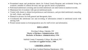Hospital Food Service Resume Samples Food Service assistant Food