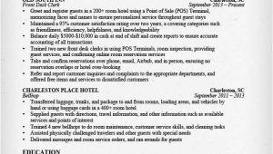 Hospitality Resume Templates Hospitality Resume Sample Writing Guide Resume Genius