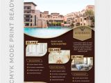 Hotel Flyer Templates Free Download Luxury Hotel Template for Poster Flyer Psd File Premium