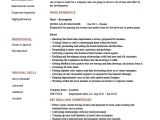 Hotel Management Resume format Word Hotel Sales Manager Resume Hospitality Marketing Guests