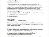 Hotel Management Resume format Word Housekeeping Resume Sample Cycling Studio