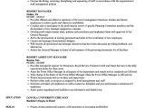 Hotel Management Resume format Word Resort Manager Resume Samples Velvet Jobs
