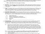 Hourly Consultant Contract Template Sample Consulting Agreement 13 Examples In Word Pdf