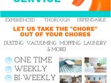 Housekeeping Flyer Templates House Cleaning Service Template Postermywall