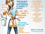 Housekeeping Flyer Templates Housekeeping Flyers Specializing In Cleaning Care for