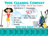 Housekeeping Flyer Templates Make Free Home Cleaning Flyers Postermywall