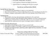 Housekeeping Resume Word format Resume Sample Housekeeping Supervisor