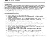 Housekeeping Resume Word format Sample Housekeeping Resume 7 Examples In Word Pdf