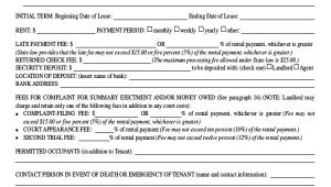 Housing Contract Template 15 Rental Contract Templates Pdf Google Docs Word