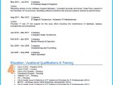 How A Basic Resume Should Look Example Of A Good Cv 13 Winning Cvs Get Noticed