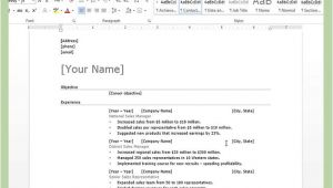 How Do You Send A Resume In Word format How to Create A Resume In Microsoft Word with 3 Sample