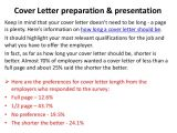 How Long Does A Cover Letter Have to Be Cover Letter Guidelines