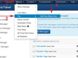How to Add Template In Joomla Adding A Menu Item which Points to An Joomla 3 X Article