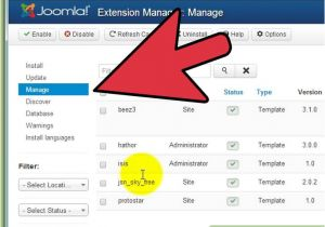 How to Add Template In Joomla How to Install Joomla Templates 7 Steps with Pictures