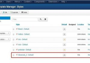 How to Add Template In Joomla Joomla Advanced Adding Template Joomla Tutorials