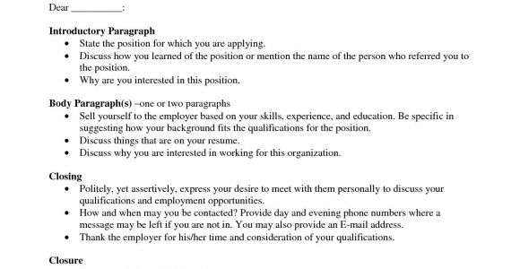 How to Address An Unknown Person In A Cover Letter Cover Letter Template to Unknown Person