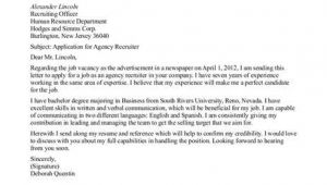 How to Address Cover Letter to Recruiter Things to Keep In Mind while Writing A Recruiting Cover Letter