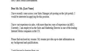 How to Apply for A Job Via Email Template 9 Sample Email Application Letters Free Premium Templates