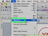 How to Change the Template In Word 3 Ways to Change A Word Document to Jpeg format Wikihow