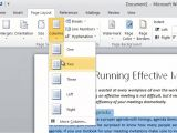 How to Change the Template In Word How to format Your Text Into Two Columns In Microsoft Word