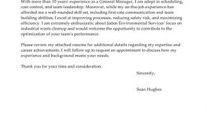 How to Create A General Cover Letter Leading Professional General Manager Cover Letter Examples