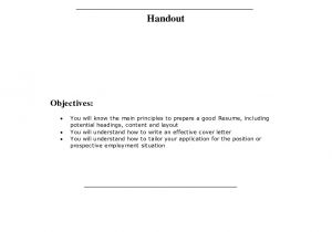 How to Create A Good Resume and Cover Letter Help Writing A Good Cover Letter