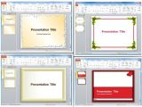 How to Create A Presentation Template In Powerpoint Page Borders for Powerpoint Presentations