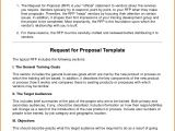 How to Create A Proposal Template In Word Request for Proposal Template Wordreference Letters Words