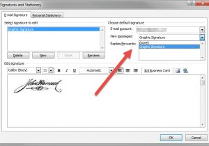How to Create An Email Signature Template In Outlook 2010 How to Add A Signature In Outlook Productivity Portfolio
