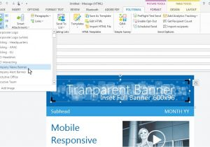How to Create An Email Template In Outlook 2013 How to Save An Email Template In Outlook Beepmunk