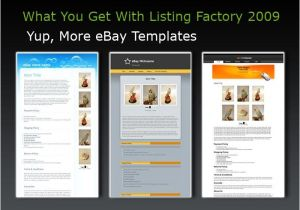 How to Create Ebay Listing Template Listing Templates for Ebay Free Templates Resume
