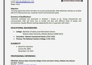 How to Create Simple Resume format Create A Simple Resume Resume Template Cover Letter