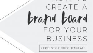 How to Create Your Own Blog Template How to Create Your Own Brand Board for Your Blog Free