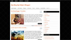 How to Customize A Blogger Template Blogger Templates Professional Full Version Free software