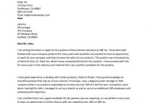 How to Do A Great Cover Letter Great Cover Letter Examples