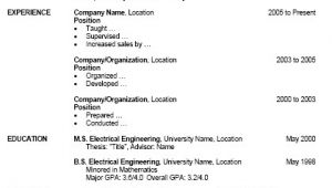 How to format A Resume In Word Free Resume Template for Microsoft Word