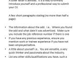 How to Introduce Yourself In A Cover Letter Introducing Yourself In A Cover Letter tomyumtumweb Com
