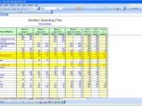 How to Make A Budget Plan Template How to Create A Budget Spreadsheet Using Excel Spreadsheets
