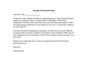 How to Make A Business Email Template 8 Sample Professional Email Templates Pdf