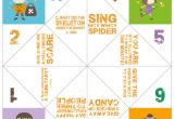 How to Make A Chatterbox Template Free Printables for Halloween