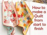 How to Make A Quilt Template Easy Fat Quarter Drawstring Bag Tutorial U Create